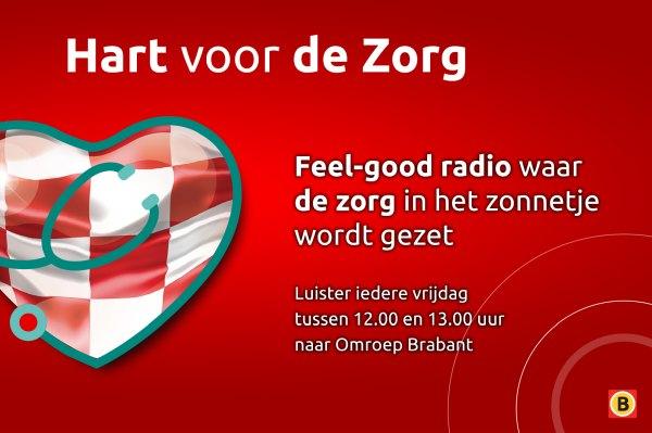 Lunet zorg bij Omroep Brabant radio 22 mei tussen 12.00-13.00 uur